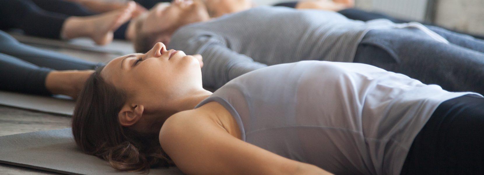 Yoga & Strömen: schließlich ganz entspannt sein