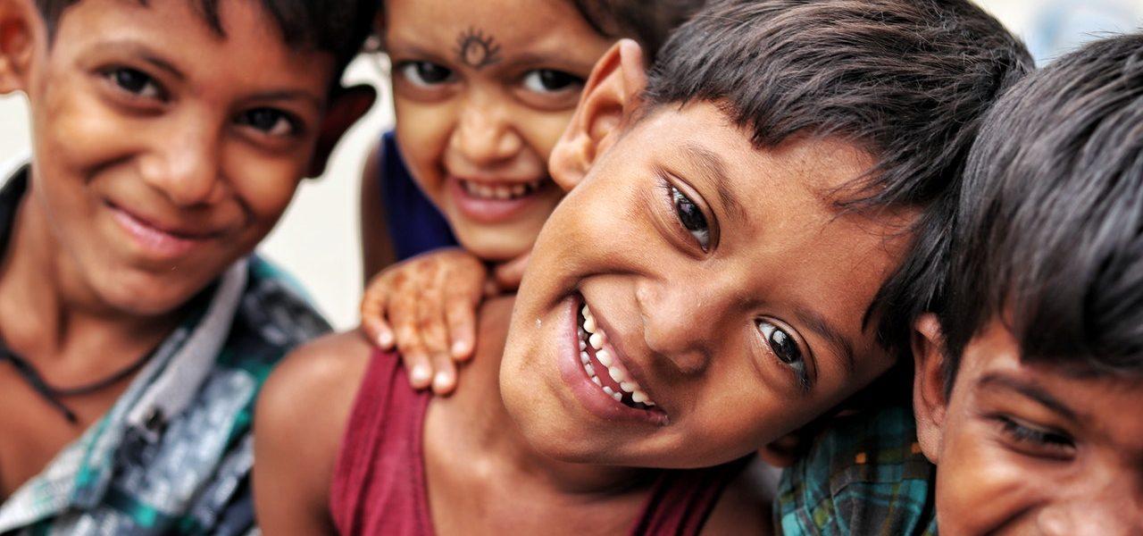 Indien -Kinder