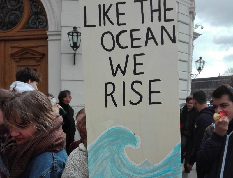 Yoga & Strömen: FridaysforFuture  und die Klimaschutzwelle