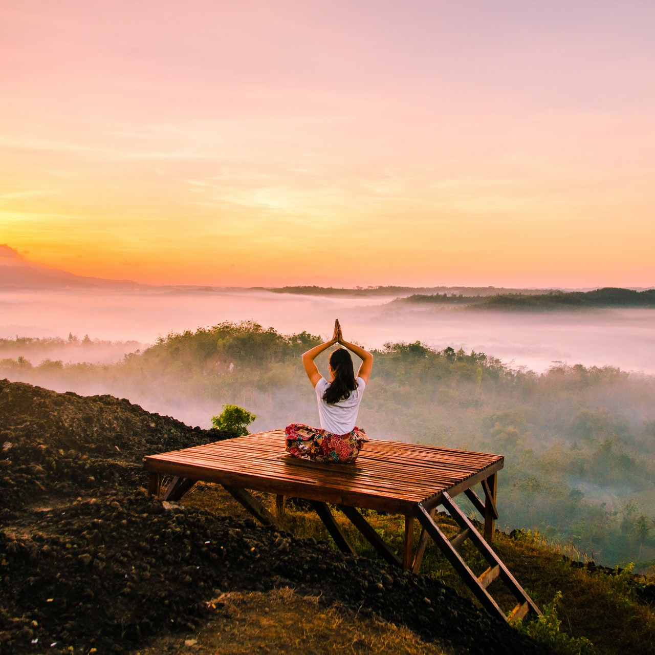 Dein Yoga-Space  im Wohnzimmer